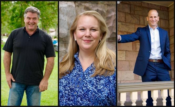 (L-R): Rich Carr, Julie Anne Eason, and Elad Hogen