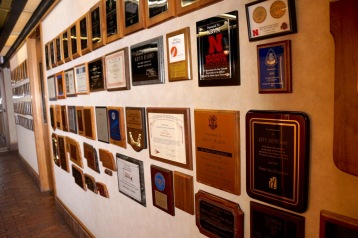 A few of the many recognitions bestowed upon KRVN over the decades.